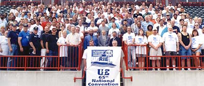 65th Annual UE National Convention (photo from last year) ...