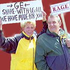 GE retirees campaign for ... and win pension increase ...