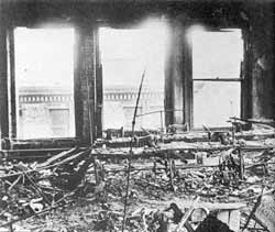 The charred remains of the Triangle Shirtwaist Company ...