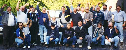 Members of UE Local 112 - Pennsylvania Drivers and Dockworkers Union