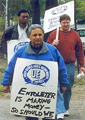 Entoleter workers rally ...