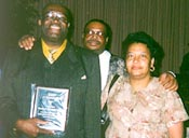 "Franklin ""The Hawk"" Wells with Willie Phillips and Daisy Wells"