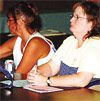Donna Cramer and Sue Smock, Local 506